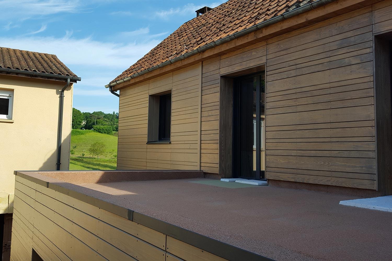 Ossature bois / Extension
